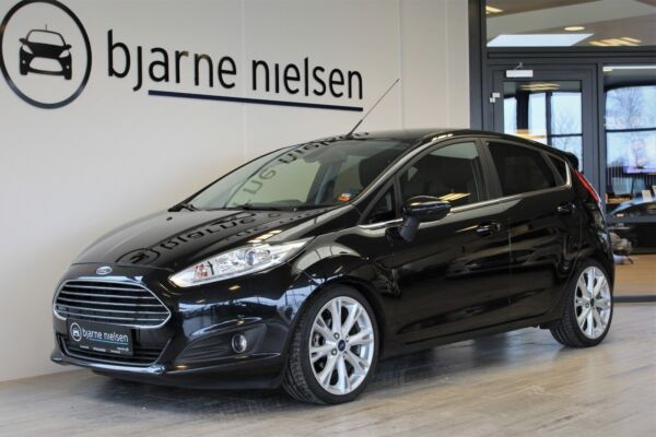 Ford Fiesta 1,0 EcoBoost Titanium X billede 0