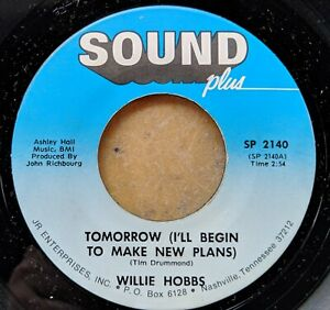 SOUL-45-WILLIE-HOBBS-Tomorrow-I-ll-Begin-to-Make-New-Plans-Judge-of-Hearts