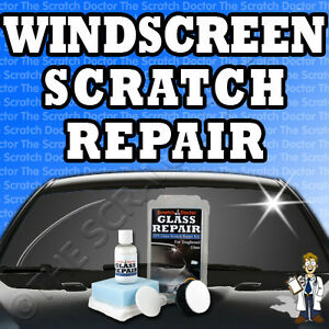 Image Is Loading New Windscreen Scratch Repair Kit Diy Gl Remover