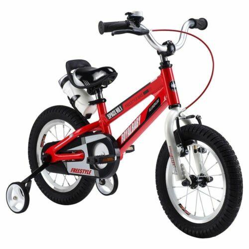 """RoyalBaby Space No.1 12/"""" Wheel Kids Children BMX Children Bike Stabilisers Red"""