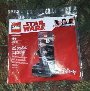 LEGO STAR WARS DJ Minifigure Polybag 40298 New Sealed
