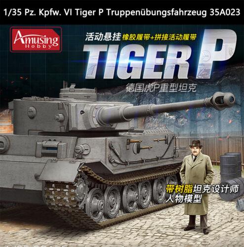Dual Barrels for Amusing Hobby 1//35 Pz Kpfw VI Tiger P 35A023