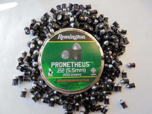 Remington prometheus 5.5mm .22 airifle pellets 1 tin of 200 pellets