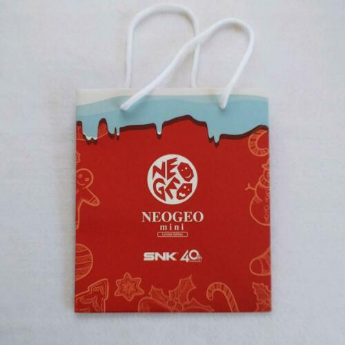 Neo Geo Mini Christmas Version Paper Bag from Japan F//S