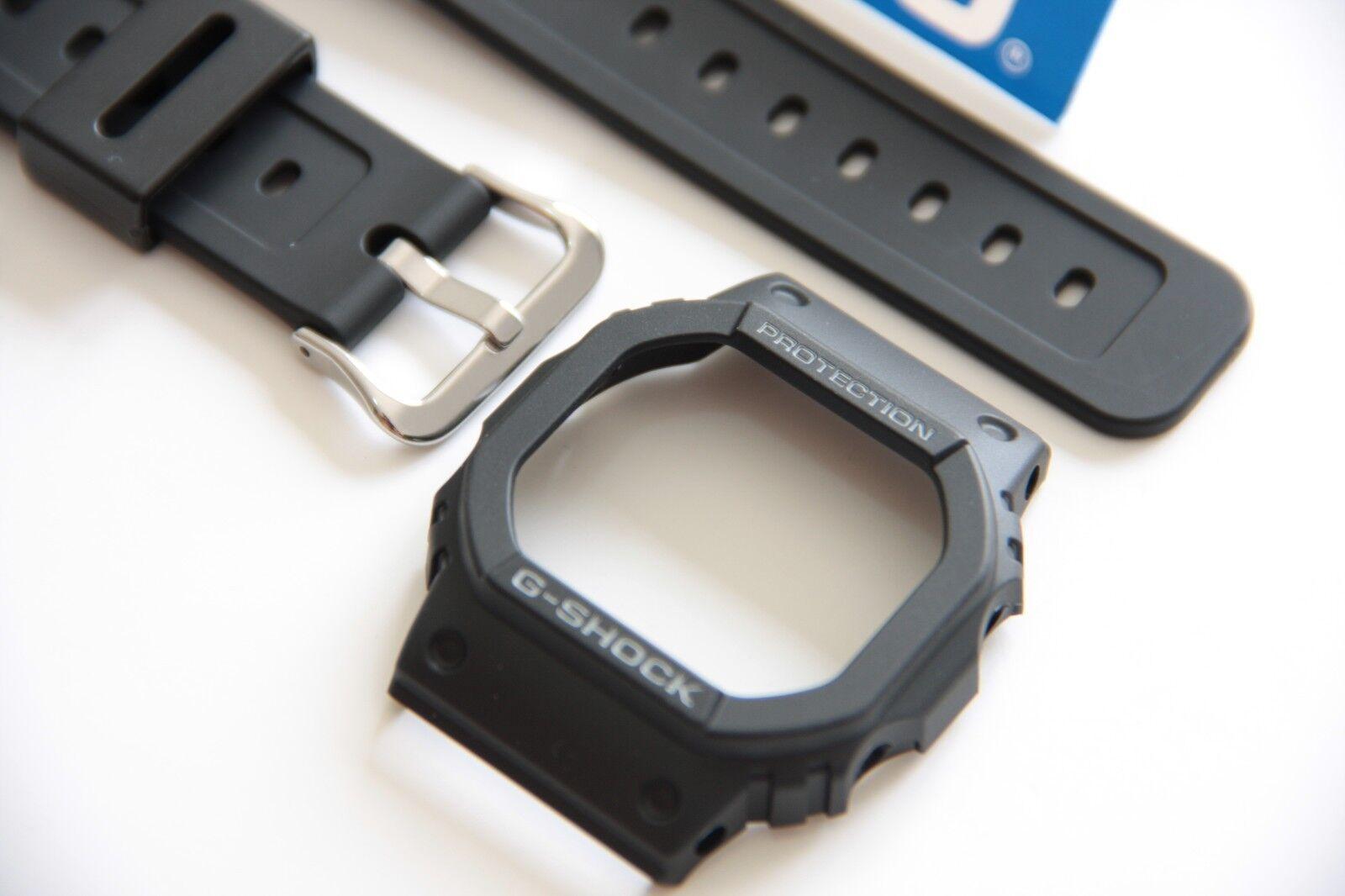 Casio G Shock Dw 5600e Black Watch Band Bezel Watch Band Case Cover Dw 5600 Ebay