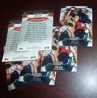 Jose Aldo UFC 2012 Topps Finest Refractor Card #22 163 156 142 136 129 WEC 51 48