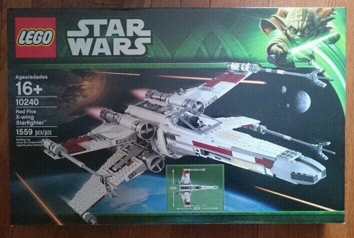 Lego Star Wars Exclusivo 10240 UCS Rojo cinco X-wing Starfighter Nuevo Listo Para Enviar