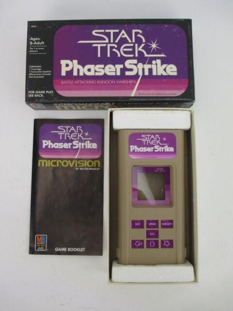 Vintage Star Trek Phaser Strike Game Cartridge 4973 for Microvision