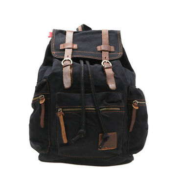 Mens Vintage Canvas Backpack