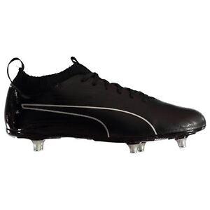La imagen se está cargando Puma-Evoknit-Sg-Botas-Futbol-Suelo-Blando-Negro- 882903b244e5e