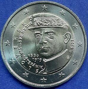 Slovaquie-2-Euros-Commemorative-2019-034-Milan-Rastislav-tefanik-034-UNC