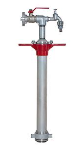 Standrohr DN 80 1x Storz C absperrbar /& 1x Zapfventil Bau Industriestandrohr
