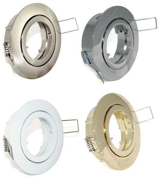 LED Downlights Bajo 230V & GU10 Leuchtmittel Wohnraum Wohnzimmer Einbauleuchte   | Moderne Technologie  | Elegant und feierlich  | Hohe Qualität und günstig