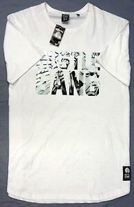 New-Hustle-Brand-Mens-Short-Sleeve-T-Shirt-White-Hustle-Gang-graphic-3X-NWT