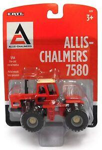 1-64-ERTL-ALLIS-CHALMERS-Model-7580-4WD-Tractor-w-DUALS-NIB
