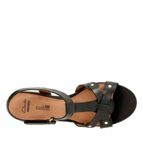 9f111419ad13 5 of 7 Clarks Women s Banoy Valtina Dress Sandal Black Leather 26124677