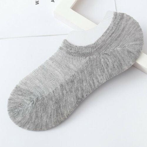 1Pair Unisex Comfortable Soild Cotton Striped Sock Slippers Short Ankle Socks US