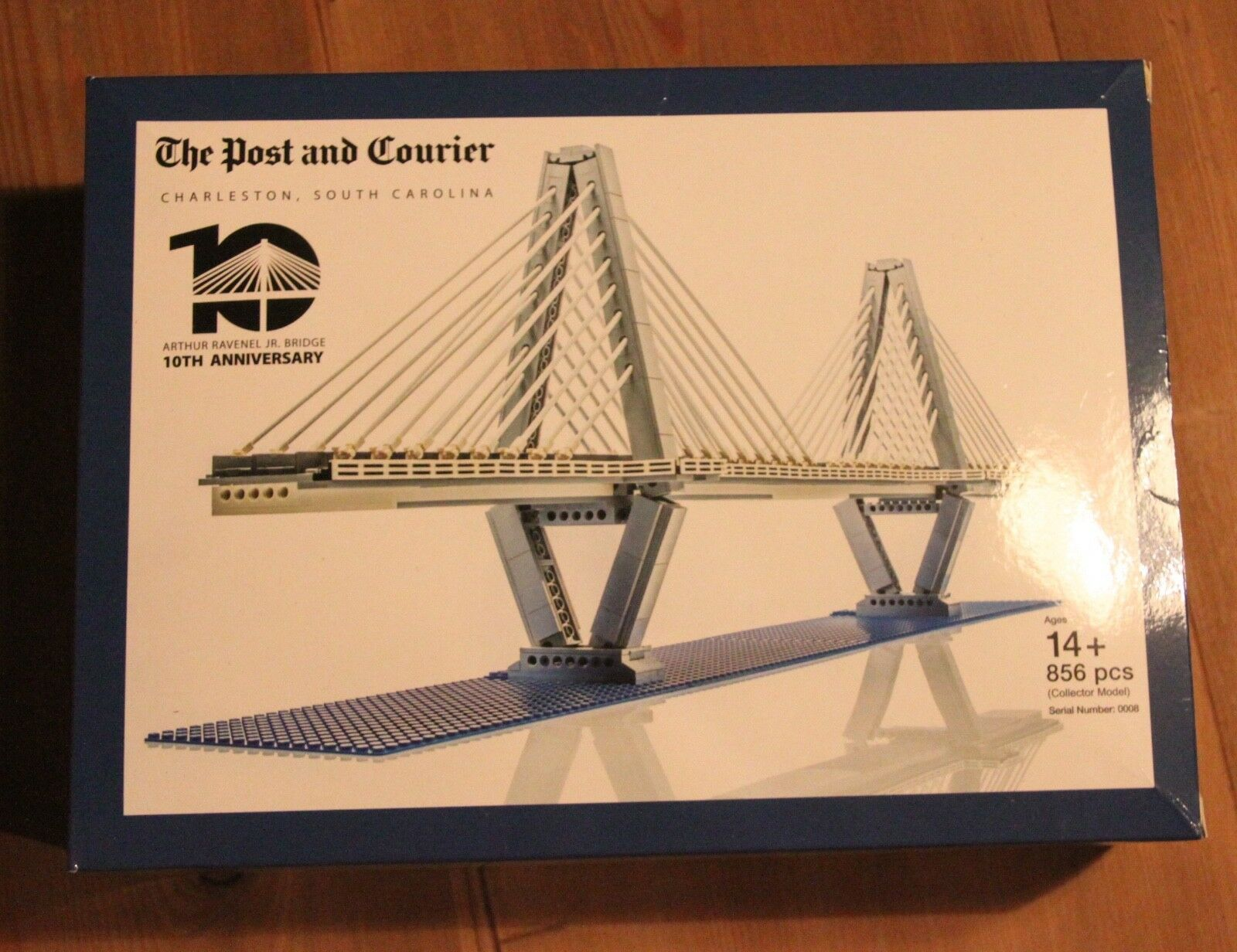 Lego Arthur Ravenel Jr. Bridge Certified Professional Limited Edition