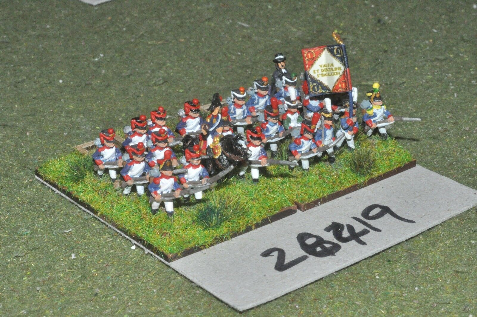 15mm napoleonic   french - line 24 figures - inf (28419)
