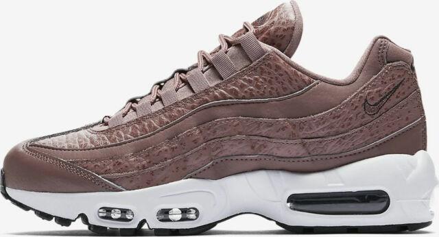 Womens Nike Air Max 95 Lea Size 7 EUR 41 (aq8758 200) Smokey Mauve