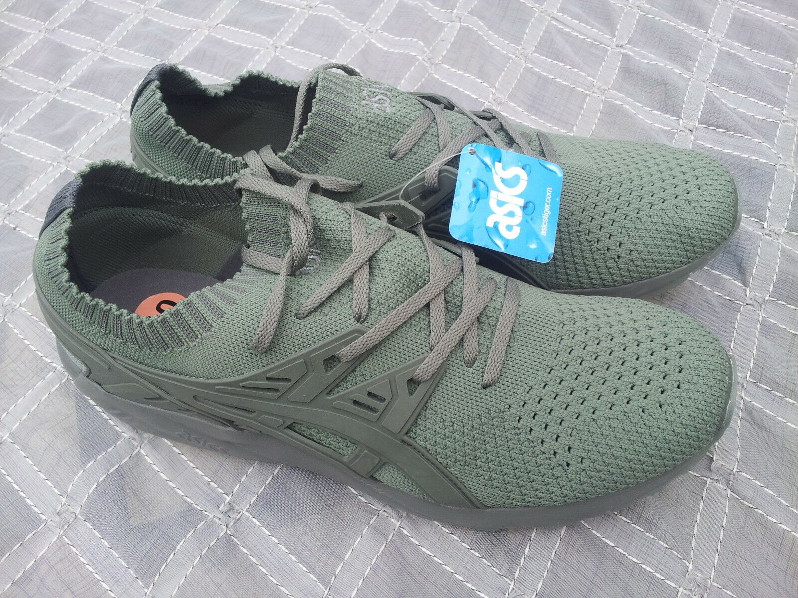 Mens Mens Mens Asics Gel Kayano Sneakers Trainers Running shoes Agave Green Army Olive 10 8c1565