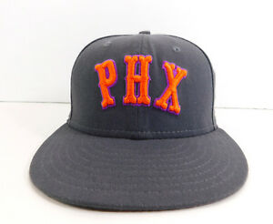 pretty nice 24b5c ed125 Image is loading PHOENIX-SUNS-New-Era-59Fifty-Hardwood-Classics-Wool-