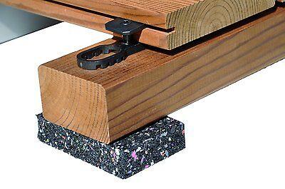 120 St. K&r Terraflex Terrazze Staffa Di Fissaggio Clip Fissaggio Per Legno-uk-tigung Klammer Clip Befestigung Für Holz-uk It-it Sapore Aromatico