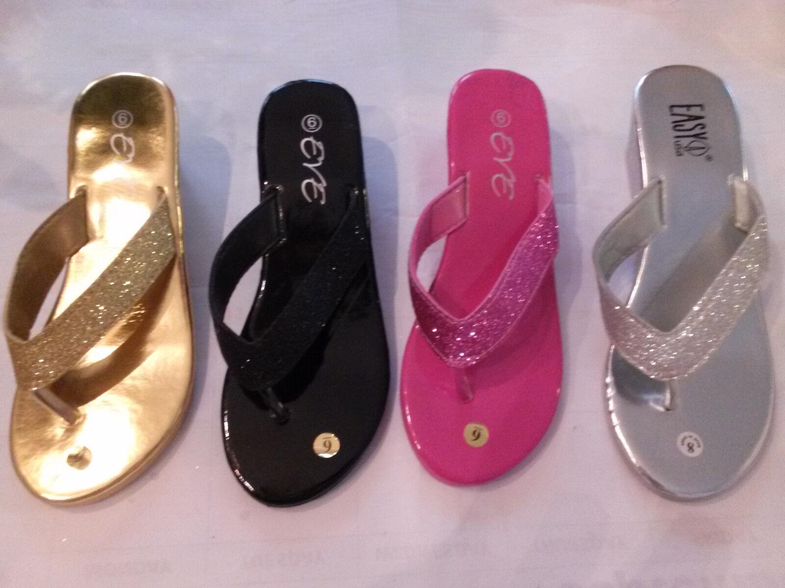 New eve wedge ladies  FASHION metallic wedge eve beach  sandals 52c815