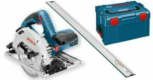 Bosch Hand Circular Saw Gks 55 Gce In L Boxx Guide Rail Fsn 1600 0601682103 For Sale Online Ebay