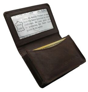 AG-Wallets-Mens-Premium-Leather-Business-and-Credit-Card-Holder-Wallet-Brown