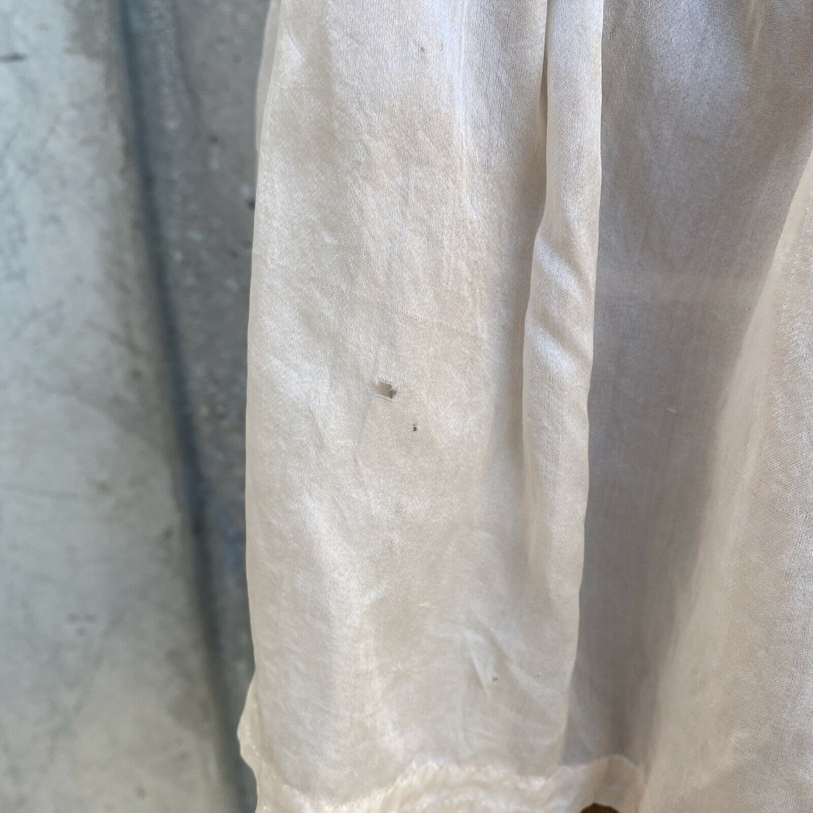 Antique Edwardian Pink Silk Blouse Corset Cover R… - image 6