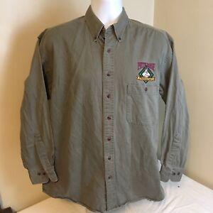 Gear-For-Sports-Mens-Shirt-Pete-Rose-Ballpark-Cafe-Oxford-Long-Sleeve-Medium-FS