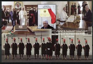 Analytique Palestine 2018 Neuf Sans Charnière Ambassade Au Vatican Le Pape François 1 V M/s Papes Timbres-afficher Le Titre D'origine