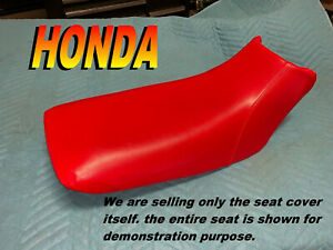 Honda-TRX90-New-seat-cover-1993-05-TRX-90-Fourtrax-Red-706A