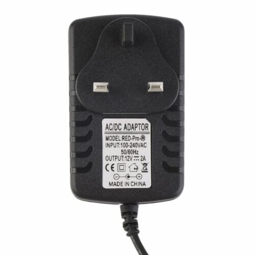 DC 12V 2A//5V 1A Power Supply Transformer Converter Wall Charge Adapter SG