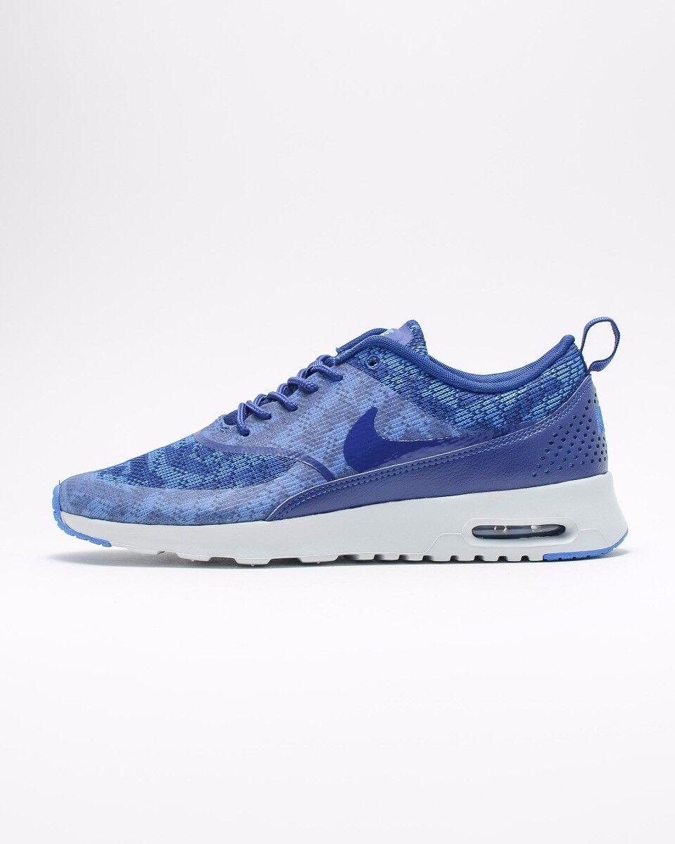 Nike Air Max Thea kjcrd para mujer UK UK UK Talla 5 6 Azul Real Correr Zapatillas Zapatos  la red entera más baja