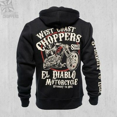 WEST COAST CHOPPERS - EL DIABLO - BLACK HOODY