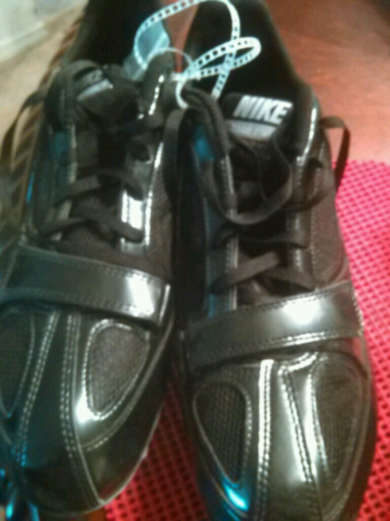 New Nike Mens Zoom Rival S 5 Track Spike Running Shoes 383822-002 sz 11 Black