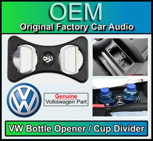 VW Scirocco Bottle Opener Genuine Volkswagen part Cup Holder Divider