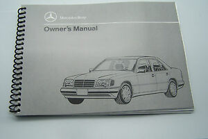 1995 mercedes e320 e420 owners manual parts reprint w124 convertible 1994 1993 ebay details about 1995 mercedes e320 e420 owners manual parts reprint w124 convertible 1994 1993