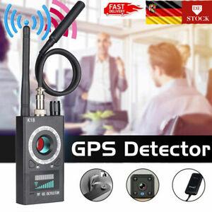Signal-Detektor-Stoersender-K18-Wireless-GPS-Detektor-Versteckter-Kamera-Finder