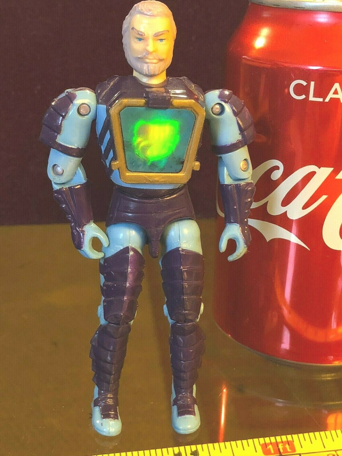 Mortdred Visionaries Visionary bluee Vintage Official Action Figure Rare hasbro