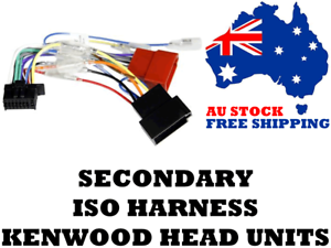Details about Aerpro APP8KE5 Secondary ISO Harness Suit Kenwood Head on