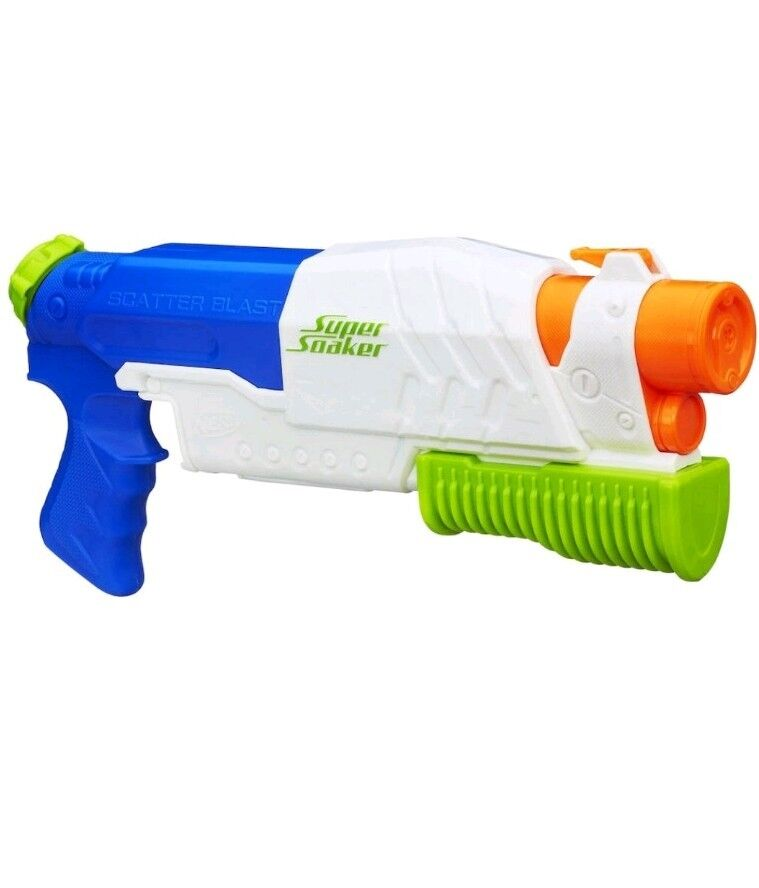 Water Guns: Nerf Scatterblast