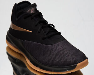 Details about Nike Air Max Infuriate III Low Men's Black Metallic Copper Basketball Shoes