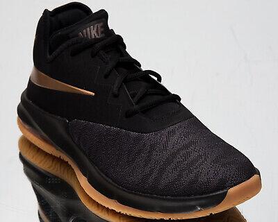 Nike Air Max Infuriate III Low Men's Black Metallic Copper Basketball Shoes | eBay