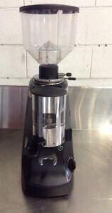 Black-Mazzer-ROBUR-Commercial-CONICAL-Coffee-Grinder-For-Cafe-Bar-Restaurant