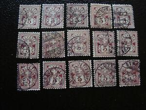 Switzerland-Stamp-Yvert-and-Tellier-N-65-x15-Obl-A14-Stamp-Switzerland
