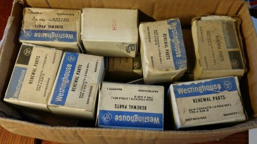 WESTINGHOUSE CONTACT KIT 3 POLE REVERSE TYPE A SIZE 0  # 373B331G03 NEW SURPLUS