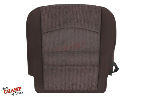 2013 2014 2015 Dodge Ram Lone Star SLT-Driver Side Bottom Cloth Seat Cover Brown